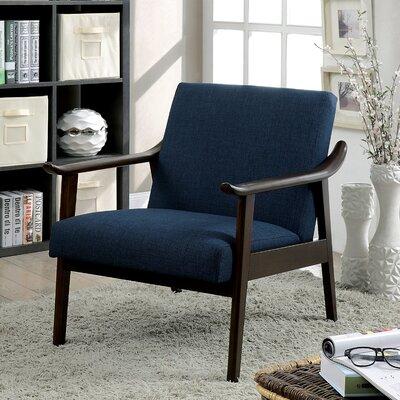 Renfrew Armchair Upholstery: Navy