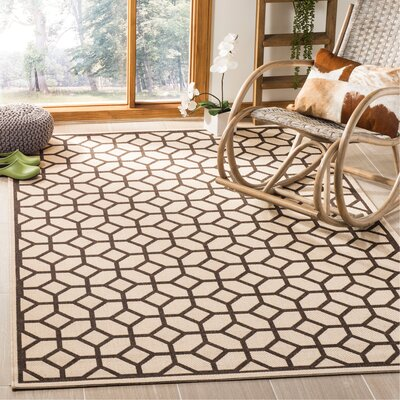 Kelli Natural Area Rug Rug Size: Rectangle 4 x 6