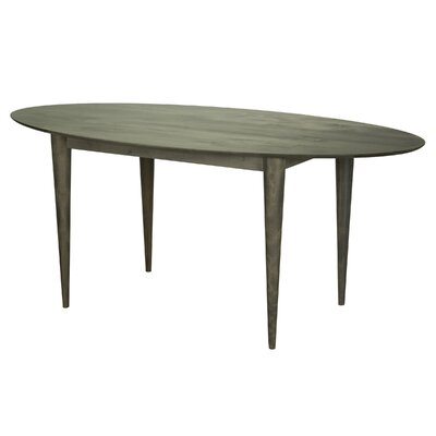 Tylor Cona Ellipse Dining Table Finish: Nantucket, Size: 29 H x 42 W x 80 D