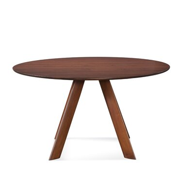Efren 42 Dining Table Finish: Walnut, Size: 29 H x 54 W x 54 D