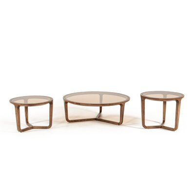 Croxton 3 Piece Coffee Table Set