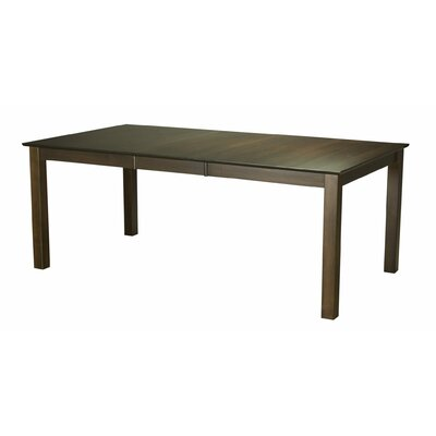 Winebrenner Dining Table Base Color: Shadow, Size: 42 W x 80 L