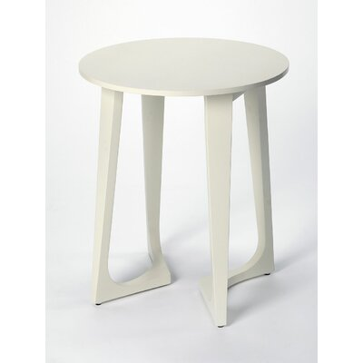 Barkingside End Table Color: White