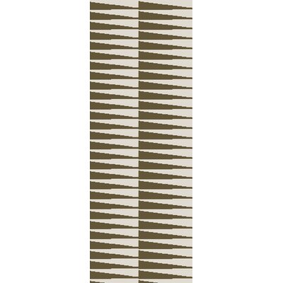 Aghavary Olive/Ivory Area Rug Rug Size: Rectangle 2 x 3