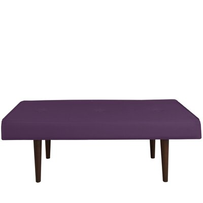 Langley Street Velvet Entryway Bench