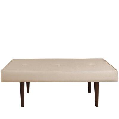 Velvet Bedroom Bench Color: Pearl