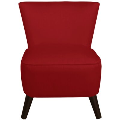 Premier Slipper Chair Color: Red
