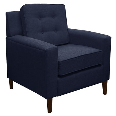 Klein Arm Chair Color: Klein Midnight