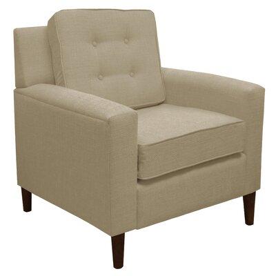 Klein Arm Chair Color: Ricepaper