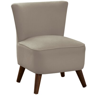 Crown Slipper Chair Upholstery: Klein Dove