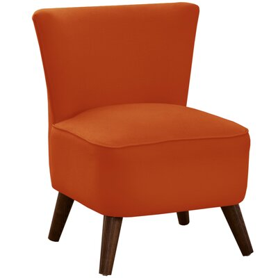 Crown Slipper Chair Upholstery: Klein Saffron
