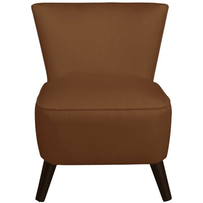 Premier Slipper Chair Color: Chocolate