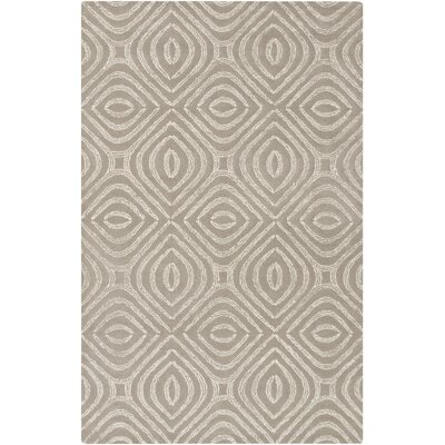 Rosa Hand-Tufted Gray Area Rug Rug Size: Rectangle 4 x 6