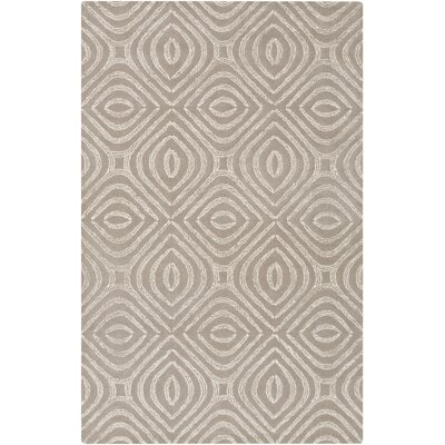 Rosa Hand-Tufted Gray Area Rug Rug Size: 3 x 5