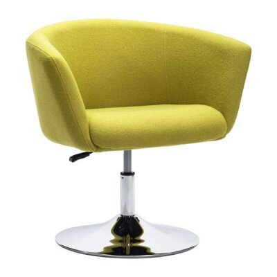 Rogin Barrel Chair Color: Green