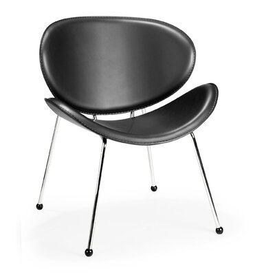 Jelissa Side Chair Upholstery: Black