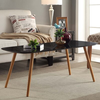 Phoebe Coffee Table Color: Black