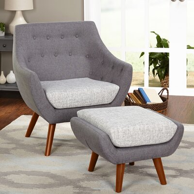 Murfreesboro Armchair and Ottoman