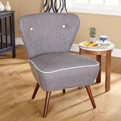 Portland Slipper Chair Color: Gray