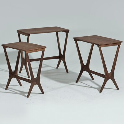 Langley Street Laurel 3 Piece Nesting Table Set