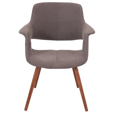 Frederick Arm Chair Upholstery: Medium Brown