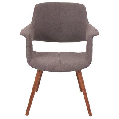Frederick Arm Chair Upholstery: Medium Brown