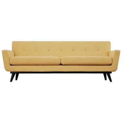 Carnmore Sofa Upholstery: Mustard Yellow