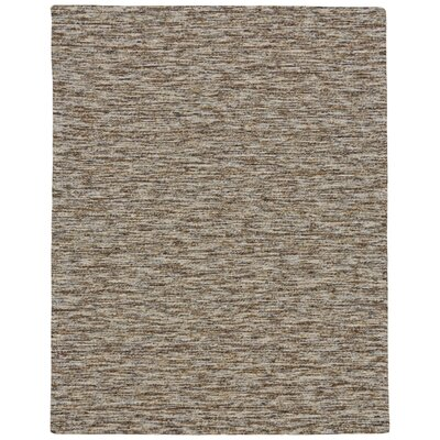 Estio Hand Tufted Mocha Area Rug Rug Size: Rectangle 36 x 56