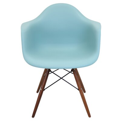 Drumahiskey Flair Armchair Color: Sea Green