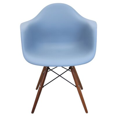 Drumahiskey Flair Armchair Color: Blue Slate