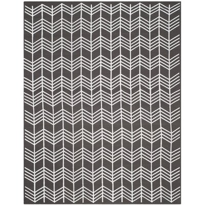 Corning Charcoal Area Rug Rug Size: 8 x 10