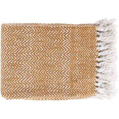 Massey Throw Blanket Color: Orange