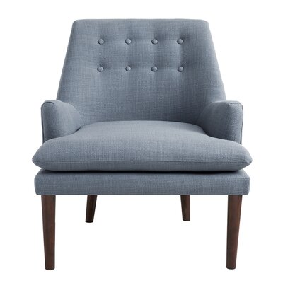 Carncome Armchair Upholstery: Blue