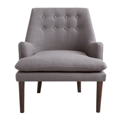 Carncome Arm Chair Upholstery: Light Grey