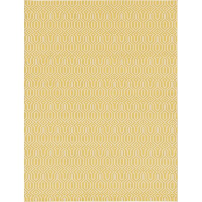 Seattle Yellow Area Rug Rug Size: 9' x 12'