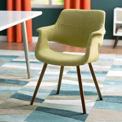 Frederick Arm Chair Upholstery: Green