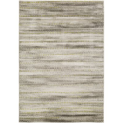 Burroughs Light Gray Area Rug Rug Size: Rectangle 76 x 106