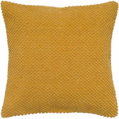Coleharbor 100% Cotton Throw Pillow Color: Mustard