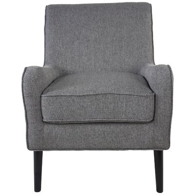 Cairey Blanco Armchair Upholstery: Gray