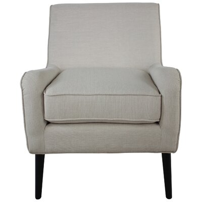 Cairey Blanco Armchair Upholstery: Ivory