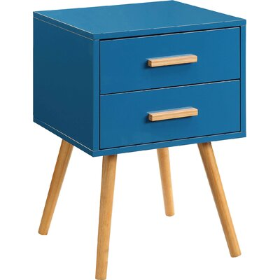 Phoebe End Table Finish: Blue
