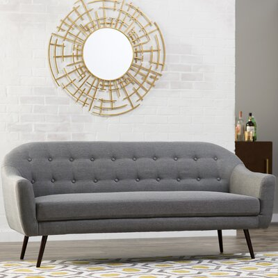 Canyon Sofa Color: Grey