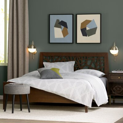 Caldwell Platform Bed Size: King