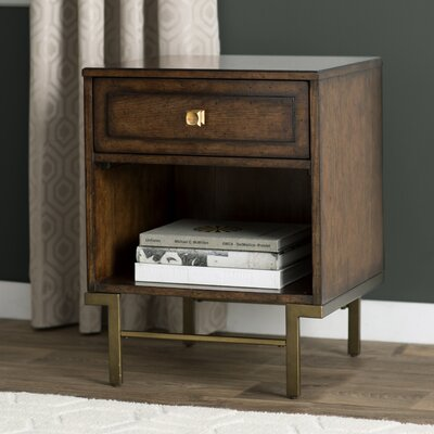 Copper Canyon 1 Drawer Nightstand