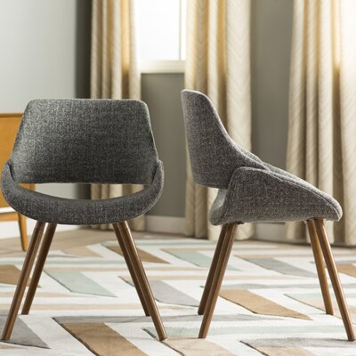 Aird Arm Chair Upholstery: Grey