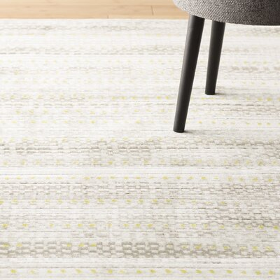 Burroughs Light Gray Area Rug