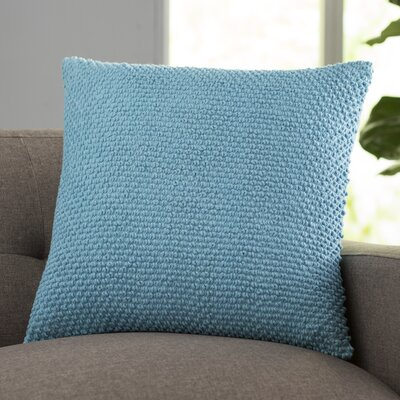 Coleharbor 100% Cotton Throw Pillow Color: Aqua