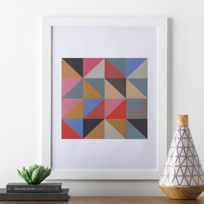 Visual Philosophy Harlequin 2 Framed Graphic Art