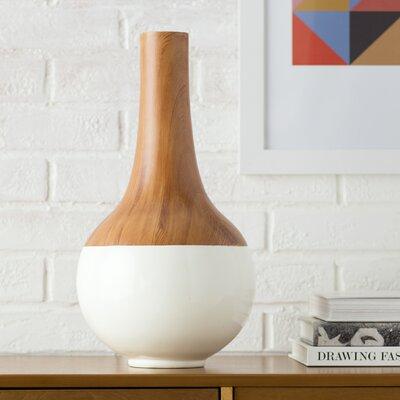 Sigrid Table Vase Color: Ivory, Size: 11.62
