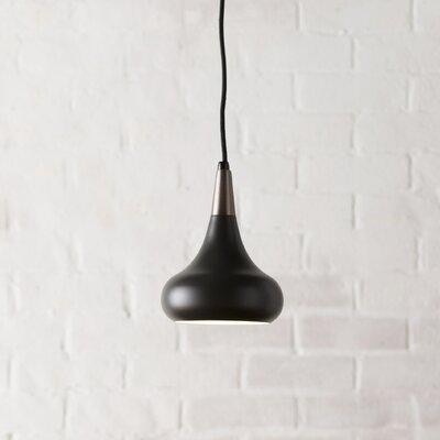Dinesen 1-Light Mini Pendant Finish: Dark Bronze